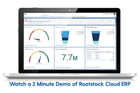 Watch a 2-Minute Demo of Rootstock Cloud ERP in Action!