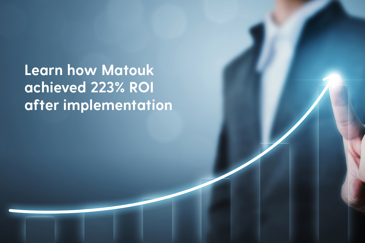 Learn how Matouk achieved 223% ROI within 6 months of implementing Rootstock Cloud ERP