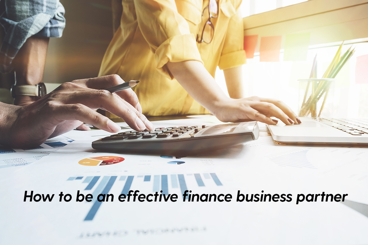 How to be an effective finance business partner - Insights for manufacturing CFOs from new and unique research by Gary Simon