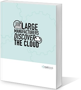 Large Manufacturers Discover the Cloud
