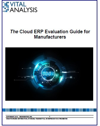 The Cloud ERP Evaluation Guide for Manufacturers