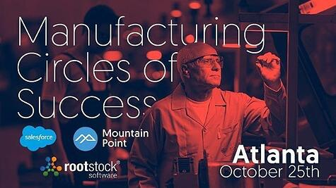 Plan to Attend: Manufacturing Circles of Success, October 25th in Atlanta, GA