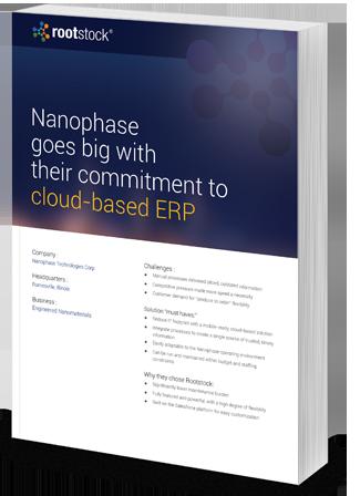 Nanophase Case Study