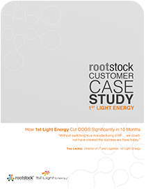1st Light Energy Case Study